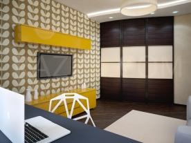 детская комната в стиле контемпорари