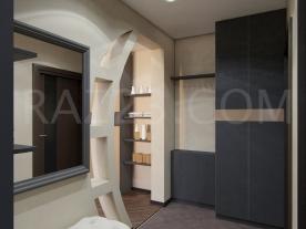 Входная дверь квартиры в стиле контемпорари